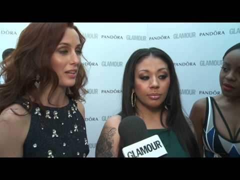 Original Sugababes Mutya Keisha Siobhan at the GLAMOUR Awards 2013