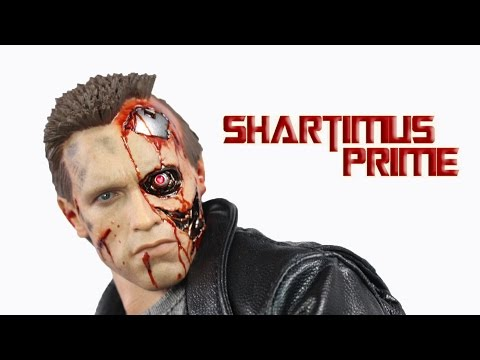 Hot Toys The Terminator T-800 Battle Damaged Version Movie Masterpiece 1:6 Action Figure Review