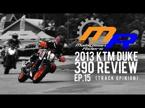 2013 KTM Duke 390 Review -- Ep.15 Track Opinion