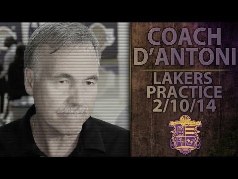 Lakers Practice: Coach D'Antoni Thinks Kobe and Pau Could Return After All-Star Break