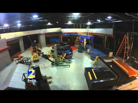Time Lapse: Good-bye to the Channel 2 Action News set