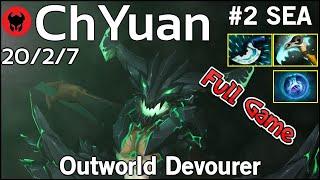 ChYuan [LOTAC] plays Outworld Devourer!!! Dota 2 Full Game 7.21