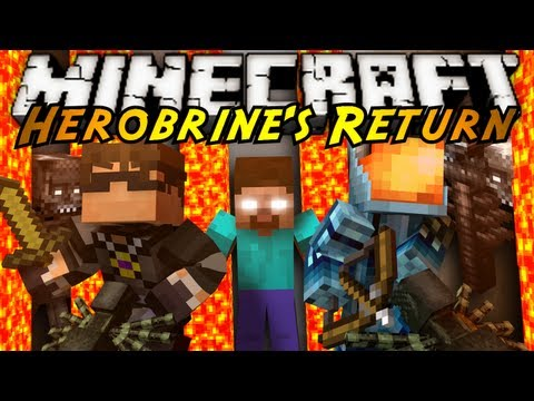 Minecraft: Herobrine's Return Part 1!
