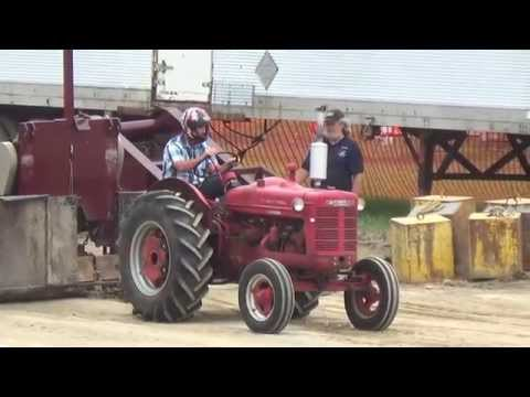Antique tractor pulls and some demo derby