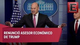 Dimite Gary Cohn, asesor económico de Donald Trump