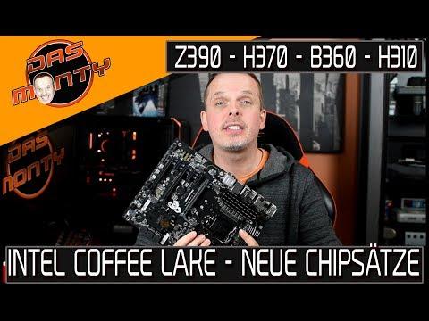 INTEL COFFEE LAKE-Mainboards mit Intel H370, B360, H310 im Anmarsch | DasMonty