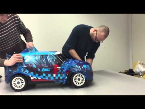 CARS & Details: Unboxing Losi 5ive Mini WRC von Horizon Hobby