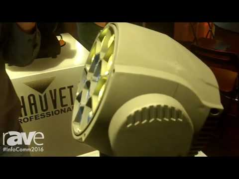 InfoComm 2016: Chauvet Professional Shows Off Its Brand New MK2 Wash Fixture at InfoComm 2016