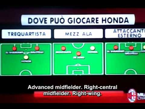 Milan Channel   Studio Milan   reportage and debate on Keisuke Honda   本田圭佑 ACミラン・チャンネル  ルポルタージュ