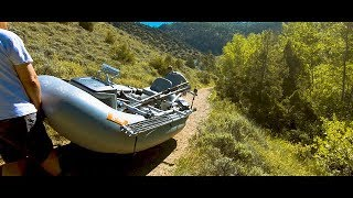 Searching 4 Solitude (North Platte River fly fishing. North Gate Canyon Wilderness)