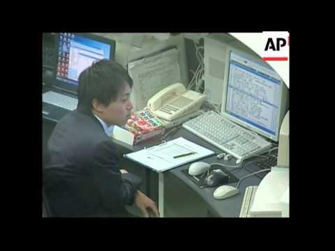 Japanese stocks lower at open, dollar rises against yen
