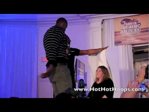 South Beach Battioke 2013 - LeBron James and Dwyane Wade sing If I Ever Fall In Love by Shai