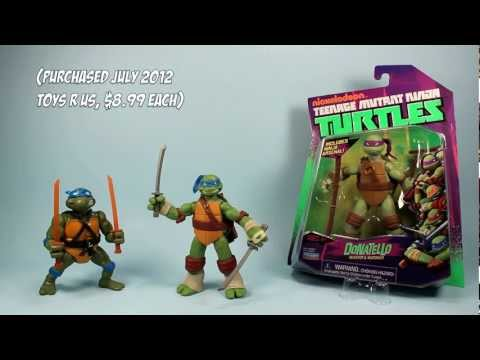 Nickelodeon Teenage Mutant Ninja Turtles Leonardo Donatello Kraang Toy Review
