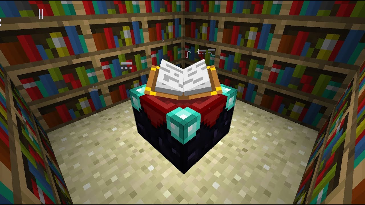 Best Minecraft Enchantment Room Youtube