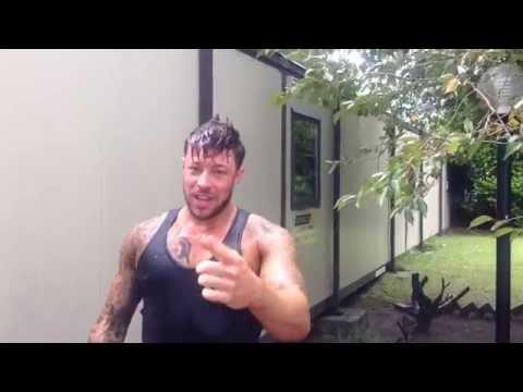 Blue - ALS Ice Bucket Challenge