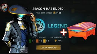 Shadow Fight 3 Official Chapter 5 Seasons Reward + Epic Chest Opening Herald