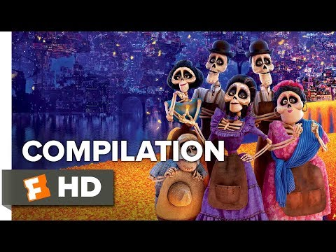Coco ALL Trailers + Clips (2017) | Movieclips Trailers