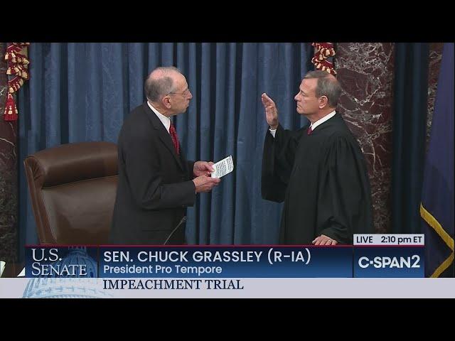 U.S. Senate: Swearing-in of Chief Justice & Senators thumbnail