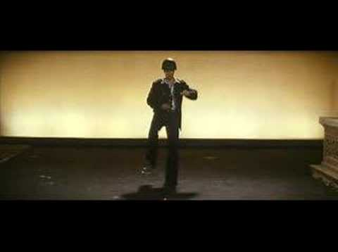 Sam Rockwell (as Chuck Barris) dancing