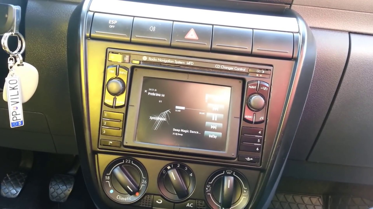Vw Fox Mfd Navi Dx Video Audio By Aux Multimedia