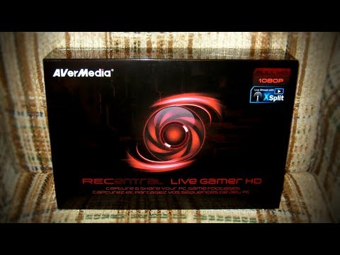 LGR - AVerMedia Live Gamer HD Capture Card Review