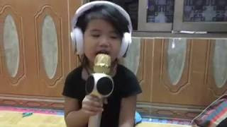 bé Cún hát bài bé bé bồng bông