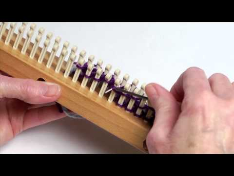LOOM KNITTING VIDEOS (TECHNIQUES AND STITCHES) on