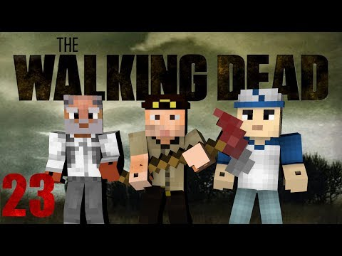 Minecraft - The Walking Dead! Episode 23 (Crafting Dead Mod)