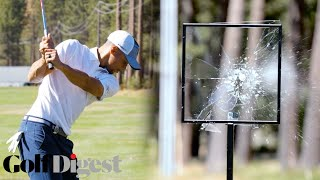 Steph Curry, Deron Williams, and More Celebrities Try To Smash Glass at Lake Tahoe | Golf Digest