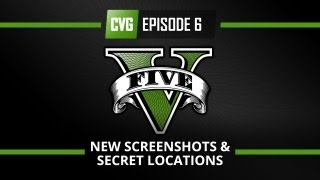 GTA V : GTA 5 o'clock episode 6: The new screenshots and secret locations