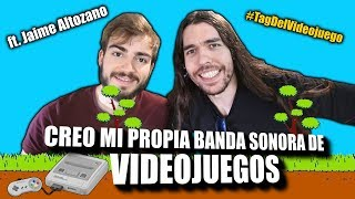 CREO MI PROPIA BANDA SONORA DE VIDEOJUEGOS!! | (ft. Jaime Altozano)