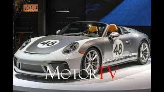 DESIGN : 2019 PORSCHE 911 SPEEDSTER Heritage Design Package l First Look NYIAS 2019