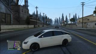GTA 5 TOYOTA PRIUS TUNING WHITE
