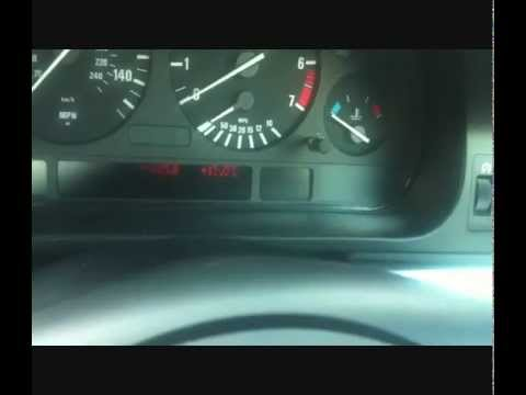 BMW E39 5 Series Airbag Light Reset