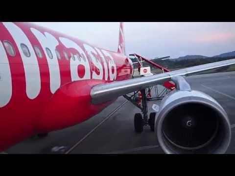 Flight Review AirAsia Flight AK733 Singapore to Langkawi Island Malaysia A320-200