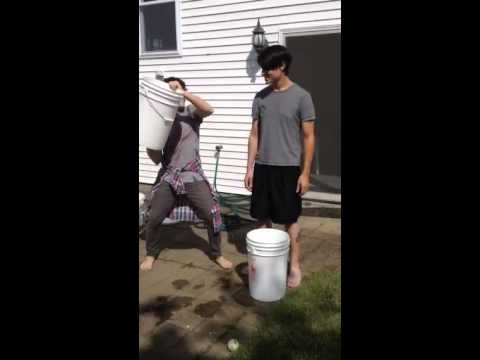ALS ice water bucket challenge SAY IT SAY IT