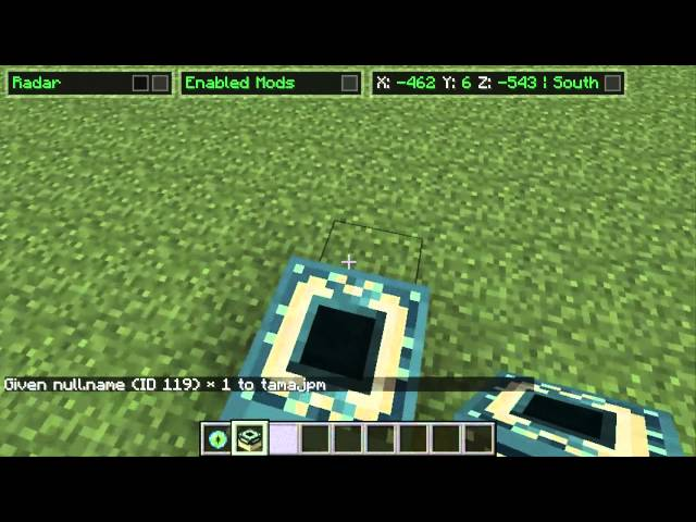 Minecraft ~ Ender Portal 1.4.6 (Met give cheat)