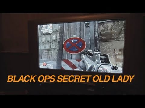 Black Ops Secret Old Lady WTF!