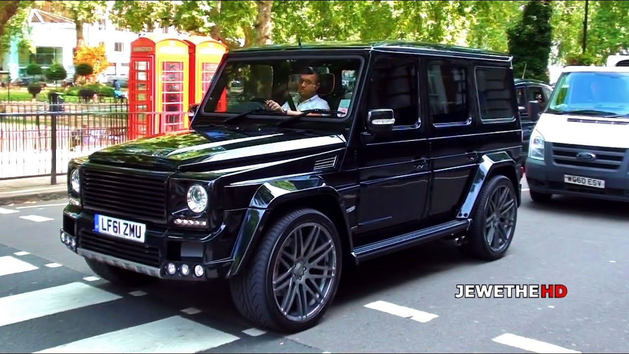 Mercedes benz brabus g class k8 in london beast exhaust for Mercedes benz g class brabus