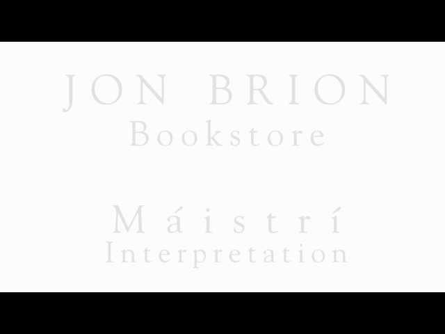 Jon Brion - Bookstore - (Máistrí interpretation)