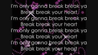 Break Your Heart Lyrics-Taio Cruz ft. Ludacris