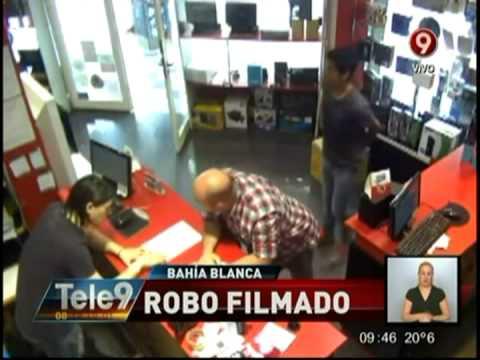 Bahía Blanca: Robo filmado