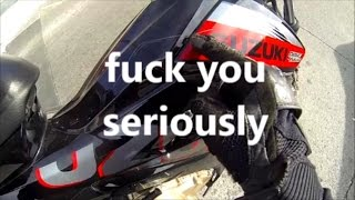 SOMEONE SCRATCH MY MOTORCYCLE