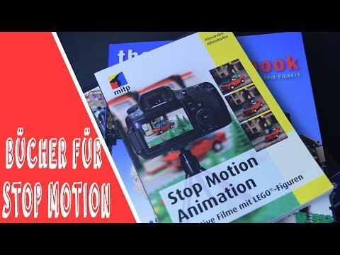 3 nützliche Bücher um bessere Stop Motion Animationen zu erstellen