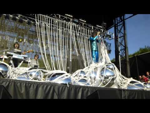 The Flaming Lips - Silver Trembling Hands HD @ GoogaMooga 2013, Prospect Park, Brooklyn
