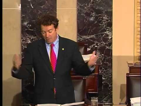 Sen. Rand Paul Objects To Indefinite Detention Language In NDAA - 12/21/12