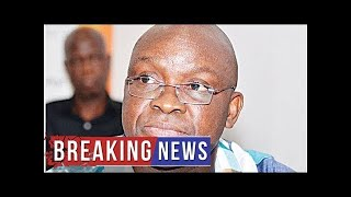 Breaking News - 'EFCC invitation won't allow me to attend Fayemi's swearing-in'