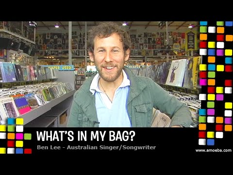 Ben Lee - What s In My Bag?