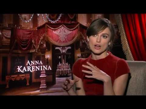 ANNA KARENINA Interviews: Keira Knightley, Jude Law and Aaron Johnson