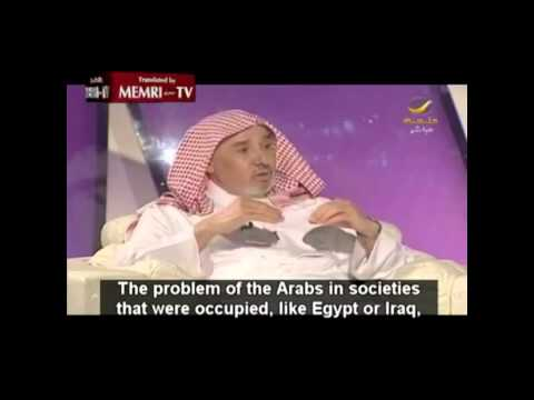 "Saudi Cleric: ""We Arabs are backward, but we don"